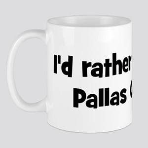 Rather be a Pallas Cat Mug