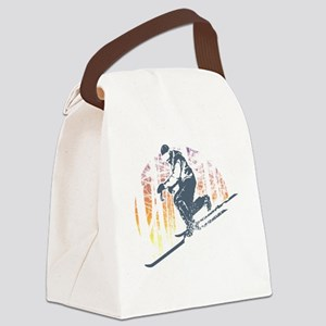 Free Heel Canvas Lunch Bag