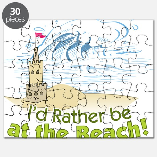 I'd rather be at the Beach! Puzzle