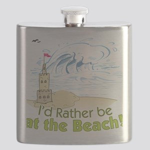 I'd rather be at the Beach! Flask