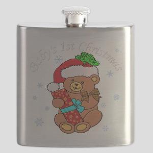 Babys 1st Christmas Flask