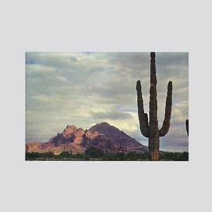 Camelback Mountain in 1955 Rectangle Magnet