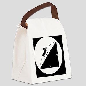 moosebutton Canvas Lunch Bag
