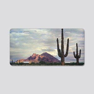 Camelback Mountain in 1955 Aluminum License Plate