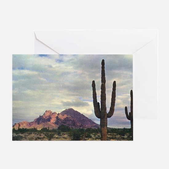 Camelback Mountain in 1955 Greeting Card