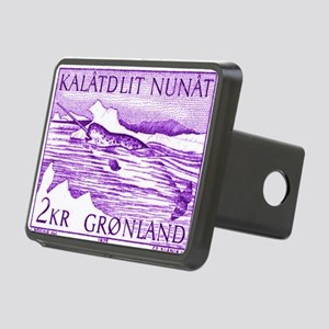 1975 Greenland Narwhal Wha Rectangular Hitch Cover