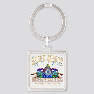 Haight Ashbury Square Keychain