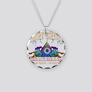 Haight Ashbury Necklace Circle Charm