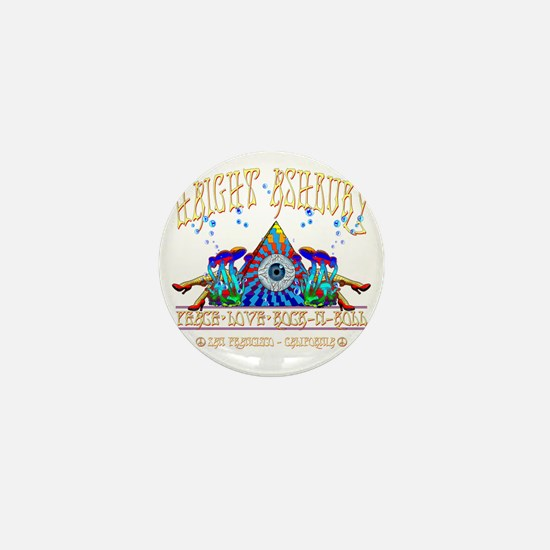 Haight Ashbury Mini Button