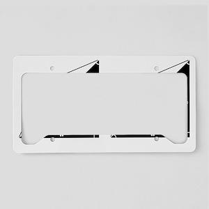 mooserectangle License Plate Holder
