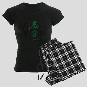 Kanji Women's Dark Pajamas
