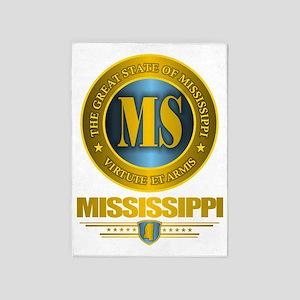 Mississippi Gold Label 5'x7'Area Rug