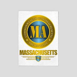Massachusetts Gold 5'x7'Area Rug