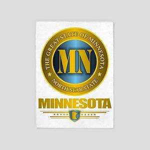 Minnesota Gold Label 5'x7'Area Rug