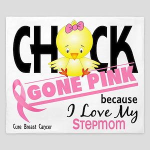 - Chick Gone Pink Stepmom King Duvet