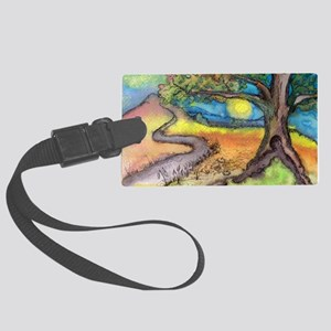 The Journey Home Large Luggage Tag