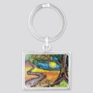 The Journey Home Landscape Keychain