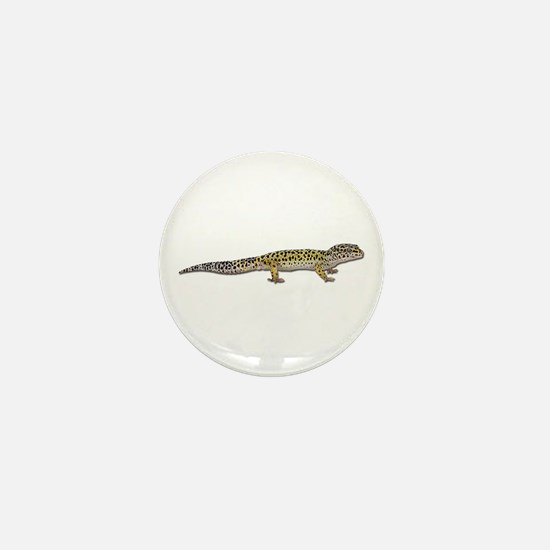 Leopard Gecko Mini Button