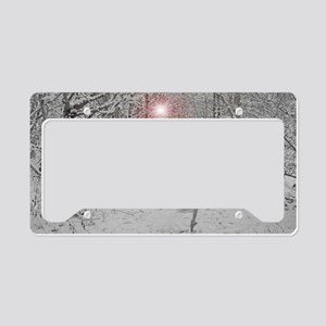 The Snow Queen License Plate Holder