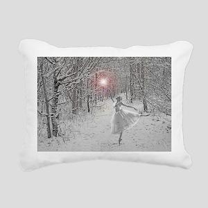 The Snow Queen Rectangular Canvas Pillow