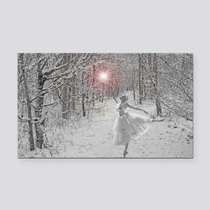 The Snow Queen Rectangle Car Magnet