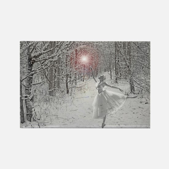 The Snow Queen Rectangle Magnet