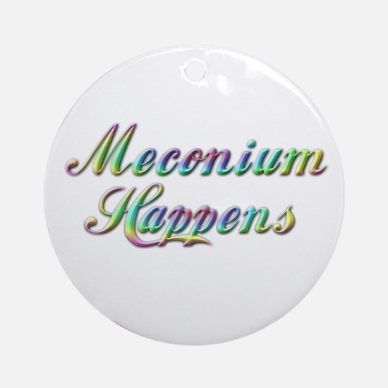 The Meconium Ornament (Round)