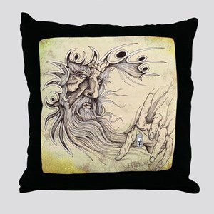 Fantasy GanD Throw Pillow