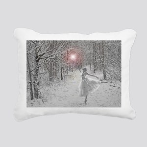 The Snow Queen Rectangular Canvas Pillow