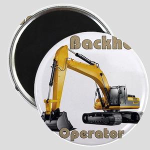 Back Hoe Magnet