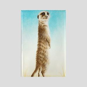 Meerkat Slider Case Rectangle Magnet