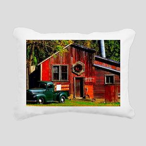 Ye Olde Mill Rectangular Canvas Pillow