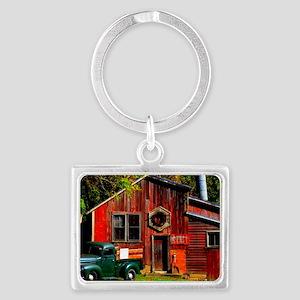 Ye Olde Mill Landscape Keychain