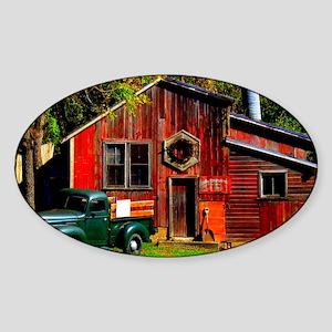 Ye Olde Mill Sticker (Oval)