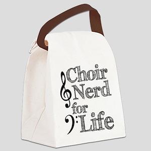 Choir Nerd for Life Canvas Lunch Bag