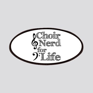 Choir Nerd for Life Patches