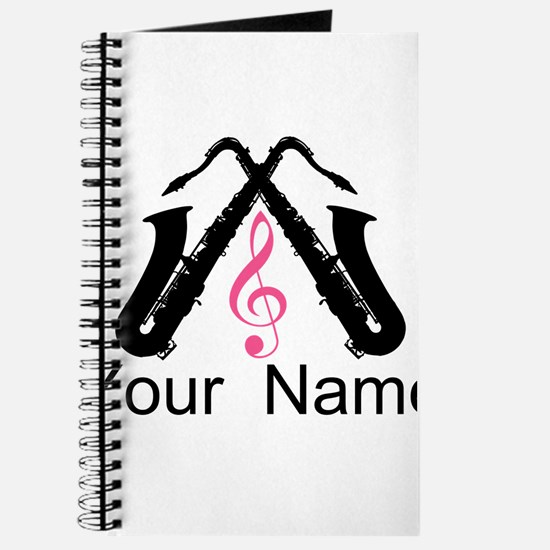 Personalized Saxophone Journal