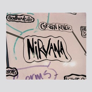 Nirvana Throw Blanket