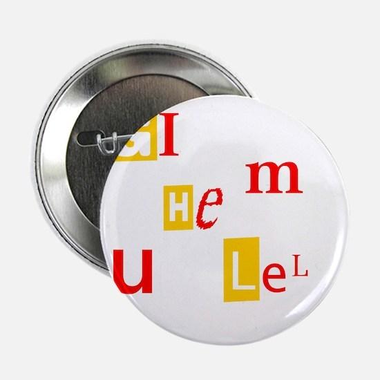 """Ransom Note Ukulele 2.25"""" Button"""