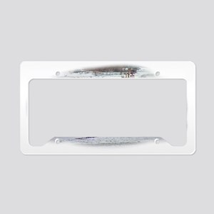 Alder License Plate Holder