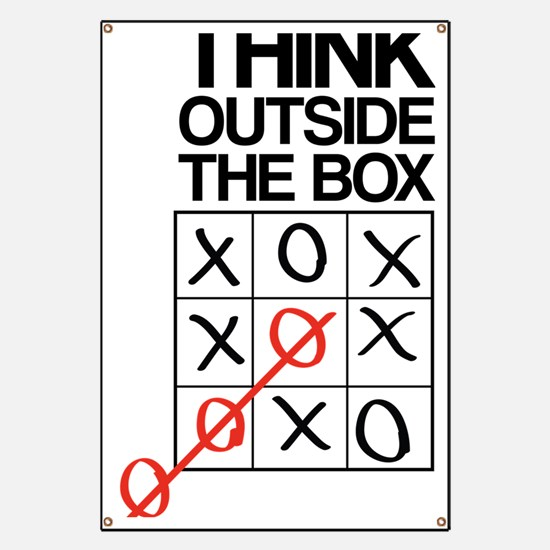 Think outside the box Banner