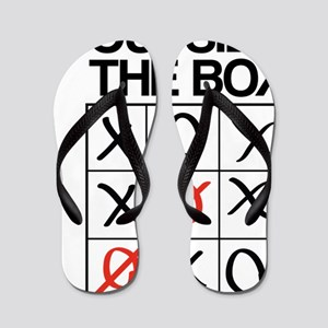 Think outside the box Flip Flops