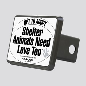 opt to adopt Rectangular Hitch Cover