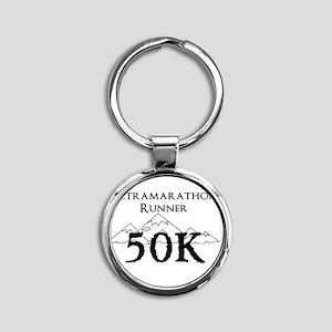 50k design Round Keychain