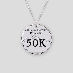 50k design Necklace Circle Charm
