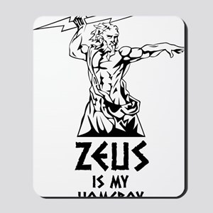 Zeus is my homeboy Mousepad