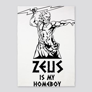 Zeus is my homeboy 5'x7'Area Rug