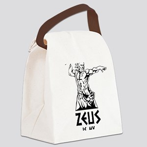 Zeus is my homeboy Canvas Lunch Bag
