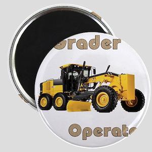 Road Grader Magnet