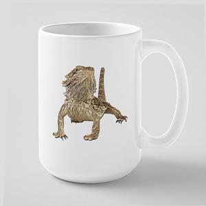 Bearded Dragon Photo Large Mug